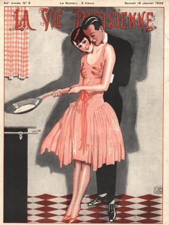 La Vie Parisienne, Erotica Glamour Womens Art Deco Cooking Magazine, France, 1926