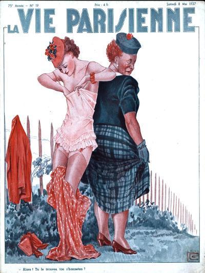 La Vie Parisienne, Erotica Underwear Magazine, France, 1937--Giclee Print