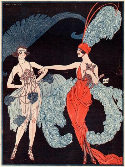 La Vie Parisienne, G Barbier, 1918, France--Giclee Print