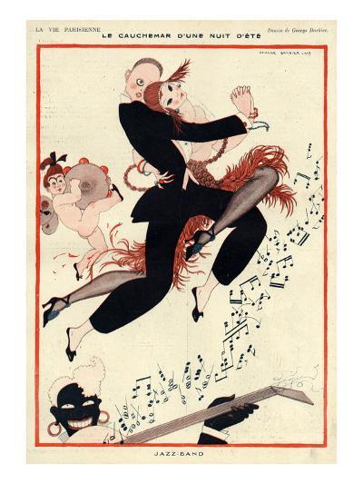 La Vie Parisienne, G Barbier, 1919, France--Giclee Print