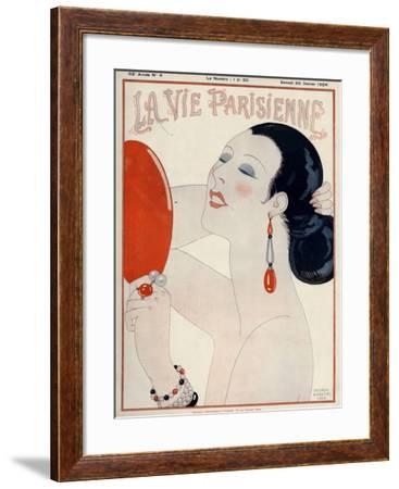 La Vie Parisienne, George Barbier, 1919, France--Framed Giclee Print