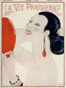 La Vie Parisienne, George Barbier, 1919, France