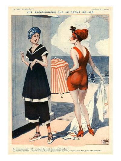 La Vie Parisienne, Georges Leonnec, 1918, France--Giclee Print