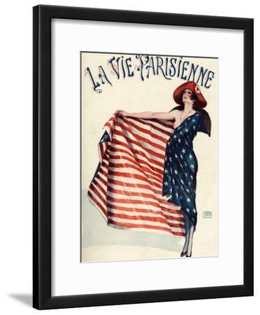 La Vie Parisienne, Georges Leonnec, 1918, France