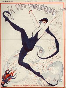 La Vie Parisienne, Georges Leonnec, 1922, France
