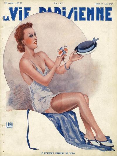 La Vie Parisienne, Georges Leonnec, 1937, USA--Giclee Print