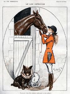 La Vie Parisienne, Georges Pavis, 1919, France
