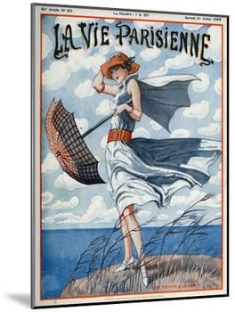 La vie Parisienne, Georges Pavis, 1923, France-null-Mounted Giclee Print