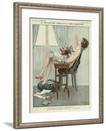 La Vie Parisienne, Georges Pavis, UK--Framed Giclee Print