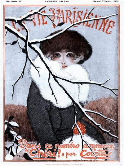La Vie Parisienne, Glamour Magazine, France, 1920--Giclee Print