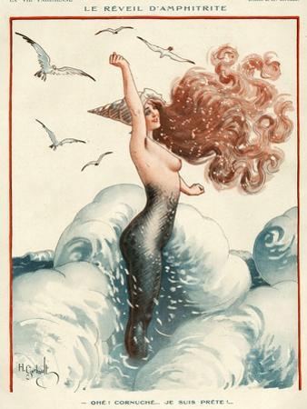 La Vie Parisienne, H Gerbault, 1924, France