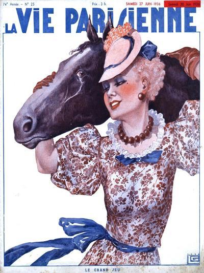 La Vie Parisienne, Horse Magazine, France, 1936--Giclee Print