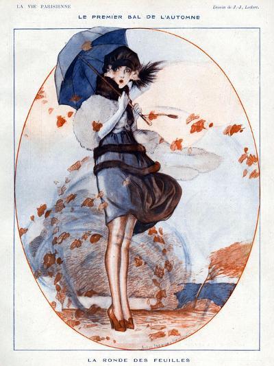 La Vie Parisienne, Julien Jacques Leclerc, 1919, France--Giclee Print