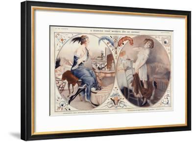 La Vie Parisienne, Leo Fontan, 1922, France--Framed Giclee Print