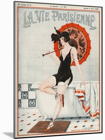 La vie Parisienne, Leo Fontan, 1923, France-null-Mounted Giclee Print