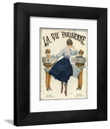 La Vie Parisienne, Magazine Cover, France, 1916