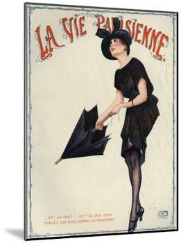 La Vie Parisienne, Magazine Cover, France, 1919-null-Mounted Giclee Print