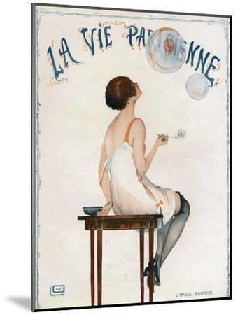 La Vie Parisienne, Magazine Cover, France, 1927--Mounted Giclee Print