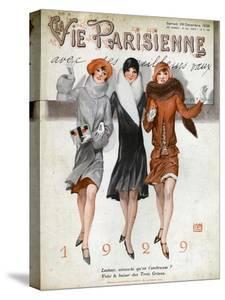 La Vie Parisienne, Magazine Cover, France, 1928