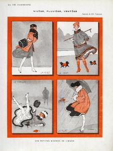 La Vie Parisienne, Magazine Plate, France, 1916