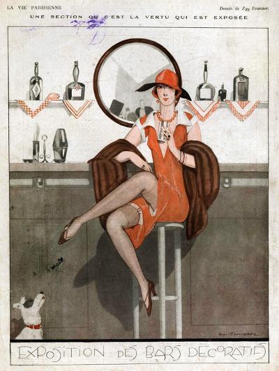 La Vie Parisienne, Magazine Plate, France, 1920--Giclee Print