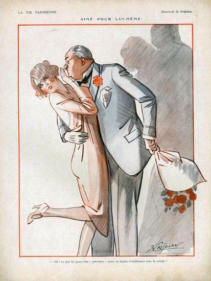 La Vie Parisienne, Magazine Plate, France, 1926--Giclee Print