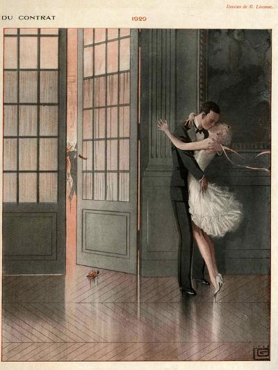 La Vie Parisienne, Magazine Plate, France, 1929--Giclee Print