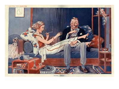 La Vie Parisienne, Magazine Plate, France, 1931--Giclee Print