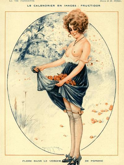 La Vie Parisienne, Maurice Milliere, 1918, France--Giclee Print