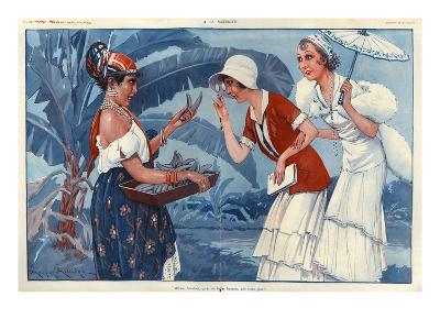 La Vie Parisienne, Maurice Milliere, France--Giclee Print