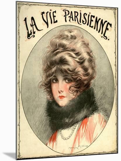 La Vie Parisienne, Maurice Milliere, France--Mounted Giclee Print