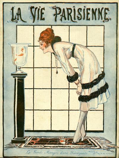 La Vie Parisienne, Rene Vincent, 1918, France--Giclee Print