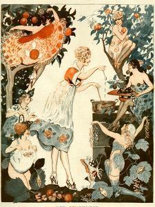 La Vie Parisienne, Vald'es, 1919, France