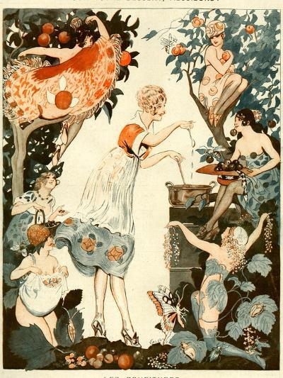 La Vie Parisienne, Vald'es, 1919, France--Giclee Print