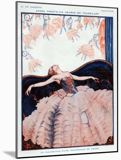 La Vie Parisienne, Vald'es, 1923, France-null-Mounted Giclee Print