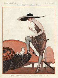 La Vie Parisienne, Vallee, 1922, France
