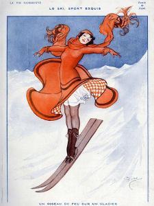 La Vie Parisienne, Zajac, 1922, France