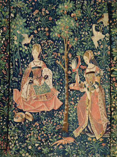 La Vie Seigneuriale: Embroidery, circa 1500--Giclee Print