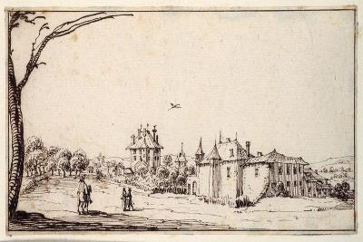 La Vieille Et La Neuve Malgrange-Jacques Callot-Giclee Print