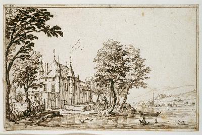La Vieille Malgrange-Jacques Callot-Giclee Print