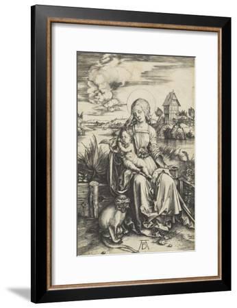 La Vierge à l'Enfant au macaque-Albrecht Dürer-Framed Giclee Print