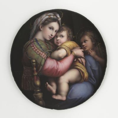 La Vierge à la chaise-Raffaello Sanzio-Giclee Print