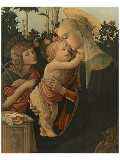 La Vierge avec l'Enfant et St. Jean-Sandro Botticelli-Premium Giclee Print