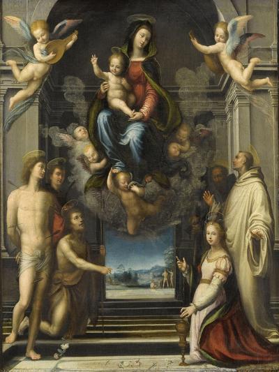 La Vierge de Ferry Carondelet-Fra Bartolommeo-Giclee Print