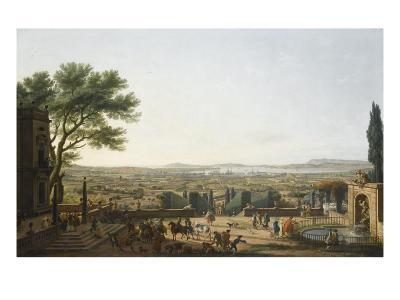 La Ville et la rade de Toulon-Claude Joseph Vernet-Giclee Print