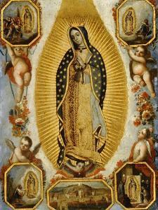 La Virgen de Guadalupe, 18th Century, Mexican School
