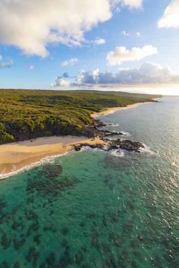 Laau point, Molokai, Hawaii-Douglas Peebles-Photographic Print