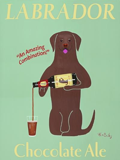 Lab Chocolate Ale-Ken Bailey-Premium Giclee Print
