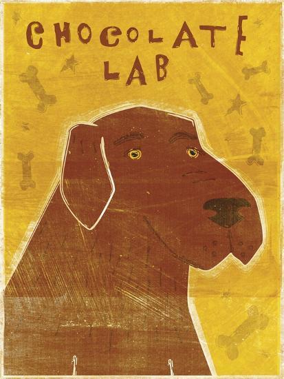 Lab (chocolate)-John W Golden-Giclee Print