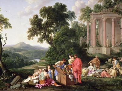 Laban Searching for the Idols, 1647-Laurent de La Hyre-Giclee Print
